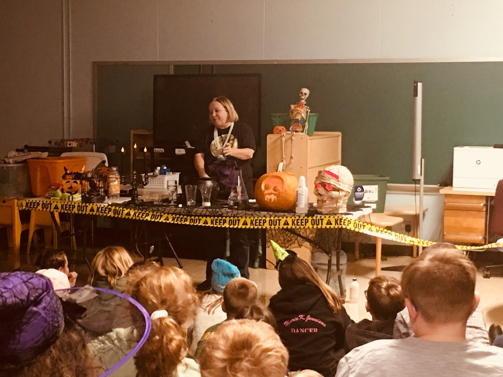 Fifth Grade Halloween Magic Program
