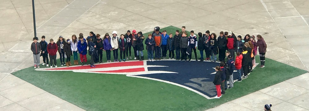 Fifth Grade Students head to Gillette Stadium