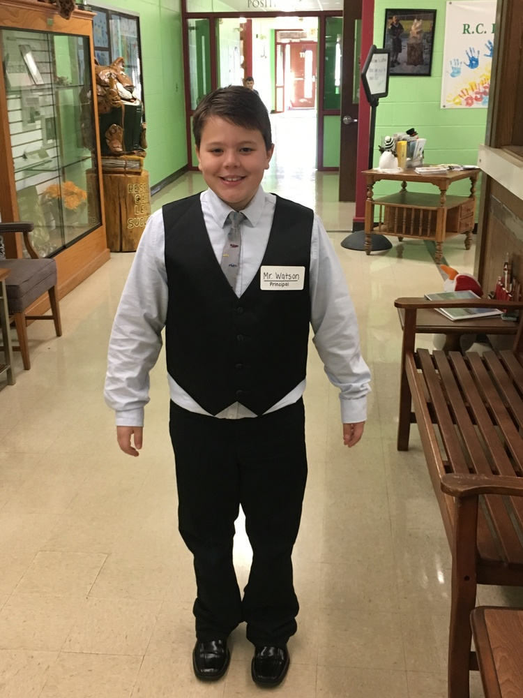 Principal for the Day--Mr. Watson