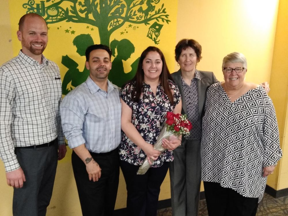 Tori Carruba named 2019 Smithfield Teacher of the Year