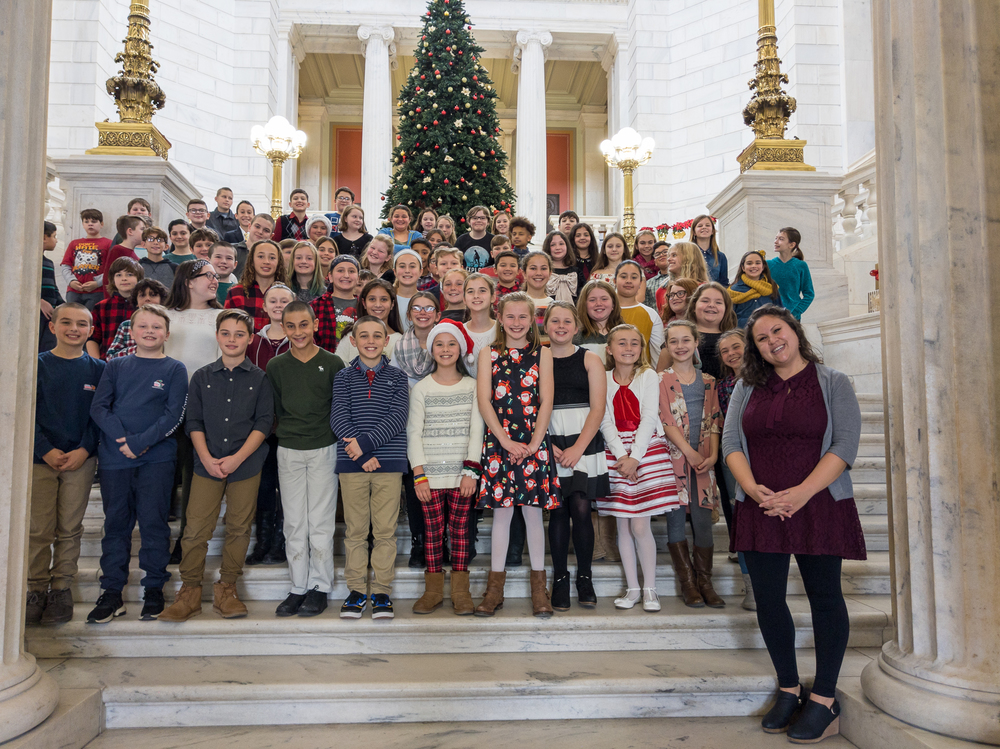Holiday Songs at the State House