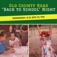 Reminder, Back to School Night on Wednesday, 8/21