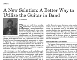 GMS Music Teacher Writes Article for RI Educators Journal