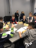 STEM Visit to the New England Patriots HOF