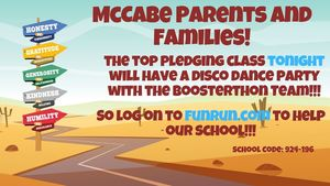 McCabe Votes for Generosity!