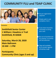 Community Flu and TDAP Clinic