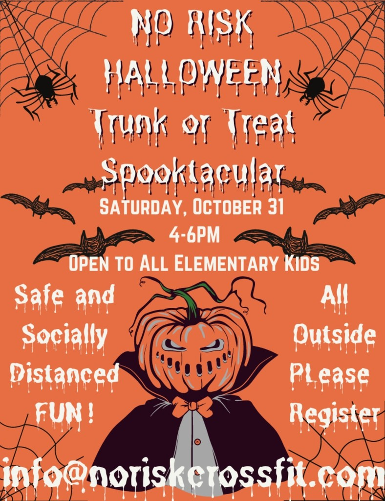 poster for trunk or treat event