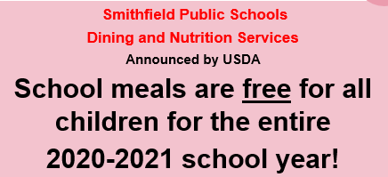 School meals are free for all children for the entire school year