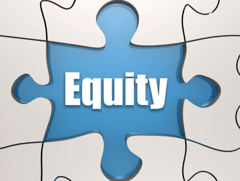 equity on a puzzle piece