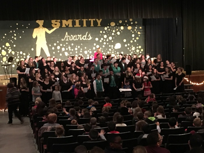 SHS band and chorus performance