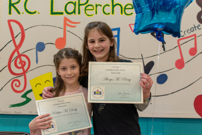OCRS Spelling Bee participants