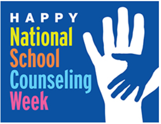 National School Counseling Week sign