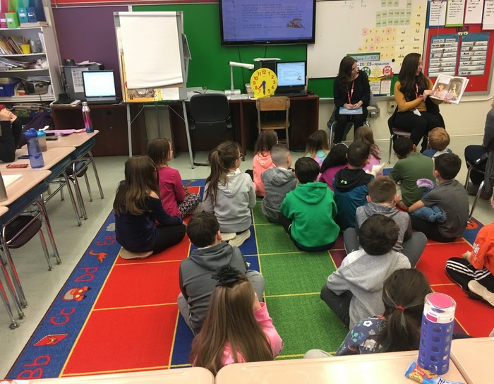 Reading to second grade
