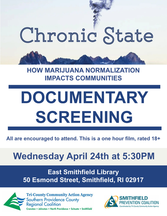 Chronic State Documentary Screening Flyer