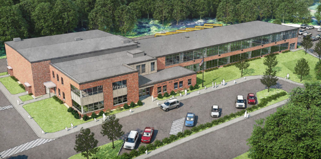 Old County Road School Rendering