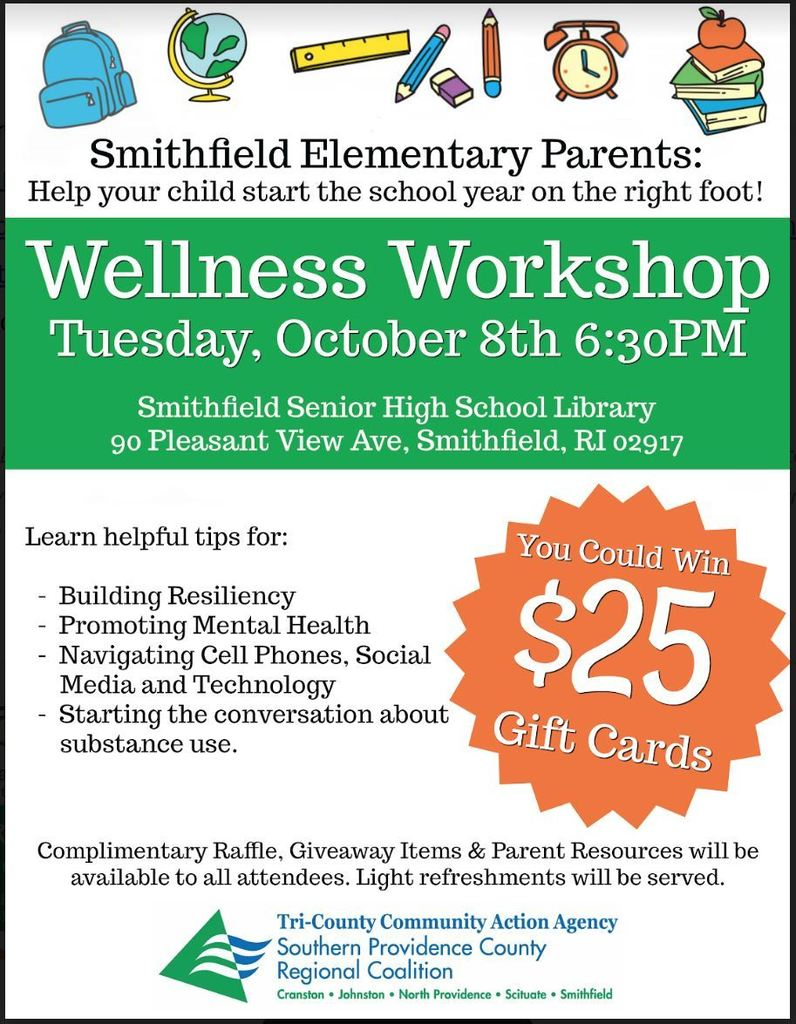 Wellness Workshop Flyer