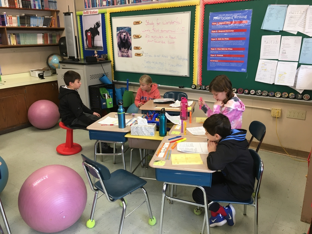 Fourth grade writers