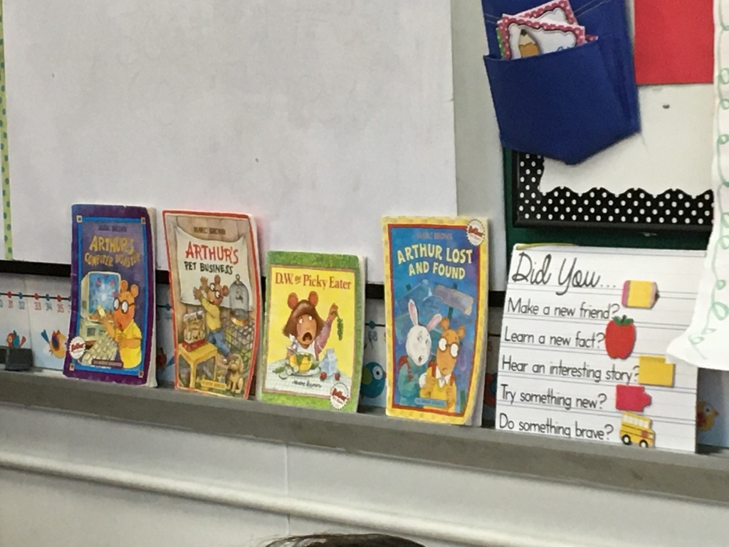 Books in second grade