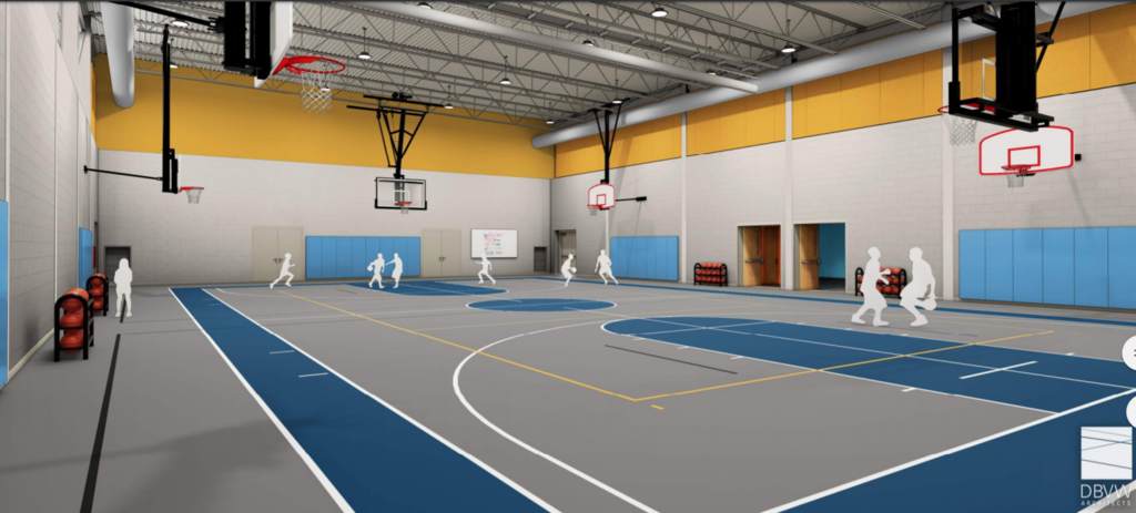 picture of gymnasium at McCabe