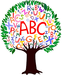 Tree with letters