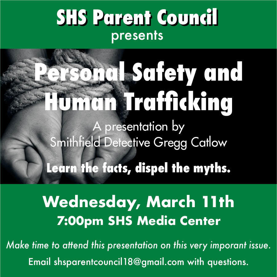 Flyer for human trafficking